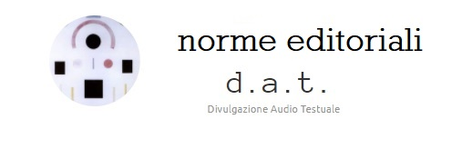 norme editoriali dat