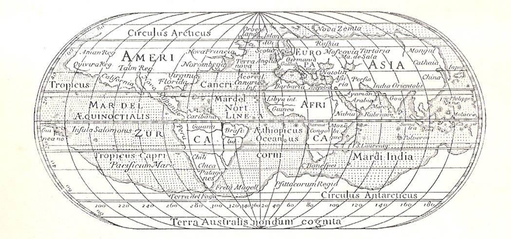 Conosciuto La storia delle carte geografiche e l'evoluzione della Geografia  IJ31