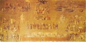 A. Capizzano, L'Impero, seconda versione, tempera su carta, 1941-42