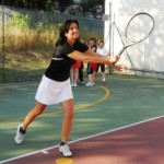 Primo torneo di tennis al C.U.S.: intervista all'istruttrice Irene Parise (di Achiropita Lina Palermo)