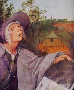 15 Bruegel - La parabola dei ciechi - particolare