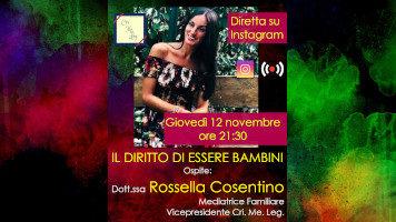 Il diritto di essere bambini | Video intervista alla Dott.ssa Rossella Cosentino (Mediatrice familiare)